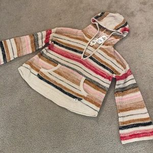 BILLABONG Baja Beach Stripe Hooded Sweater